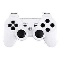cheap Video Games Accessories-Wireless Controller for PS3 (White) Portable Video Game Accessories