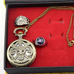 Ceas/Ceas de Mână Mai multe accesorii Inspirat de One Piece Edward Newgate Anime Accesorii Cosplay Ceas/Ceas de Mână Inel Aliaj