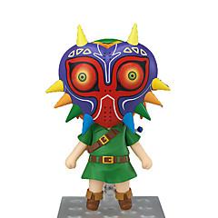 Anime Aksiyon figürleri Esinlenen The Legend of Zelda Bağlantı Anime Cosplay Aksesuarları şekil Yeşil PVC