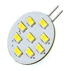 abordables Bombillas LED-2W 420 lm G4 Luces LED de Doble Pin Tubo 9 leds SMD 5730 Blanco Fresco
