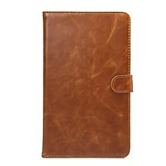 modèle en cuir véritable de haute qualité étui portefeuille pour 8 pouces pad media huawei m2 (de m2-803l)