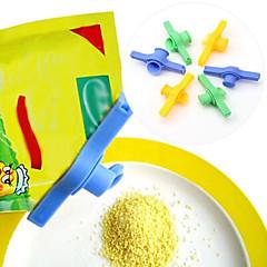 설탕 소금 씰링 가방 클램프 배출 노즐 식품 튜브 봉인 클립 지퍼와 콘센트