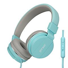 abordables Auriculares para Videojuegos-Gorsun GS-779 Sobre el oído Cinta Con Cable Auriculares Dinámica El plastico Teléfono Móvil Auricular Con control de volumen Con Micrófono