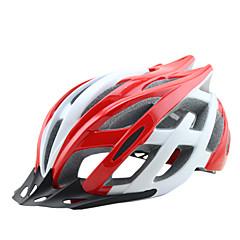 ieftine -biciclete Casca CE Ciclism 25 Găuri de Ventilaţie Ajustabil One Piece Vizor Munte Ultra Ușor (UL) Sporturi Tinerețe Ciclism montan