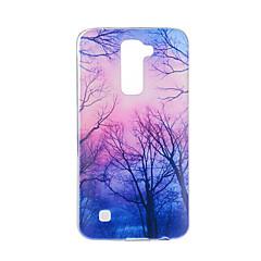 Недорогие Чехлы и кейсы для LG-Кейс для Назначение LG G3 LG K8 LG LG K10 LG K7 LG G5 LG G4 С узором Кейс на заднюю панель дерево Мягкий ТПУ для LG V20 LG V10
