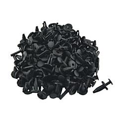 Недорогие Ремонтные инструменты-k087 100 шт авто автомобиль 5мм отверстие пластмассовые заклепки бампер дверь застежка толчок клипы