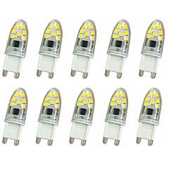 preiswerte LED-Birnen-10 Stück 1 W 300 lm G9 LED Doppel-Pin Leuchten T 14LED LED-Perlen SMD 2835 Dekorativ Warmes Weiß / Kühles Weiß 220 V / 220-240 V / RoHs