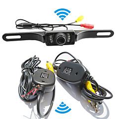 Недорогие Автоэлектроника-система помощи при парковке беспроводной автомобильная камера заднего вида авто ИК CCD HD заднего вида обратная универсальная резервная