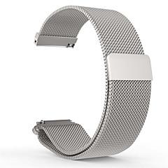 милански петля группы часы из нержавеющей стали Магнитный браслет ремешок для 20мм галечного времени раунда