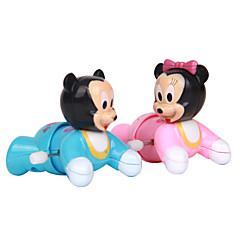 abordables Juguetes de Cuerda-Juguete de Cuerda Juguetes Novedosos Juguetes Novedades Plástico Azul / Rosa Para Chicos / Para Chicas