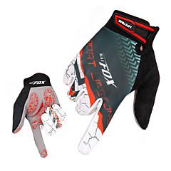 Sports Gloves Men's Cycling Gloves Autumn/Fall Spring Winter Bike Gloves Quick Dry Breathable Wearproof Full-finger Gloves Lycra