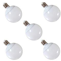 お買い得  LED 電球-5個 900 lm E26 / E27 LEDボール型電球 G95 30 LEDビーズ SMD 5630 装飾用 温白色 / クールホワイト 220-240 V / # / RoHs / CCC