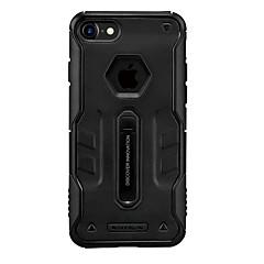 Для Защита от удара со стендом Матовое Кейс для Задняя крышка Кейс для Один цвет Твердый PC для Apple iPhone 7 Plus iPhone 7