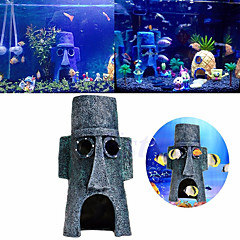 Akvaario Sisustus Koristeet Kivet Keinotekoinen Hartsi