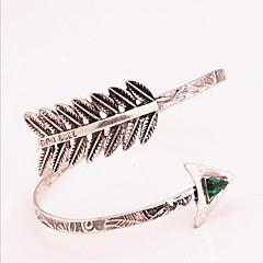 Damskie Biżuteria Bransoletka na ramię Wyrazista biżuteria Modny Osobiste Europejski Syntetyczne kamienie szlachetne Stop Biżuteria Na