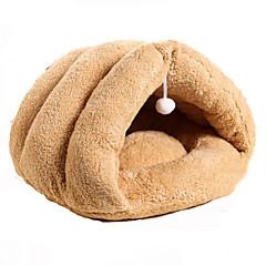 お買い得  猫ケア用品、グルーミング-高通気性 犬の服 ベッド Brown ネコ / 犬