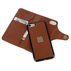 Для Кейс для iPhone 7 Кейс для iPhone 7 Plus Кейс для iPhone 6 Кошелек Бумажник для карт Защита от пыли Кейс для Чехол Кейс для Один цвет