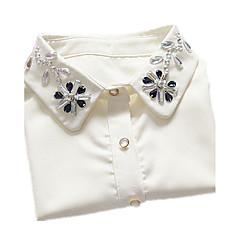 Γυναικεία Κολάρα Δαντέλα Προσομειωμένο διαμάντι Βασικό Μοντέρνα Κοσμήματα Για Γενέθλια Καθημερινά Causal