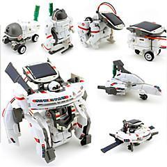 7 IN 1 ألعاب الطاقة الشمسية رجل آلي ألعاب الفضاء العلوم والاستكشاف مجموعات لعبة الطائرات لعبة سيارات ألعاب إنسان آلي صبيان قطع
