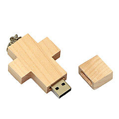 お買い得  USBメモリー-8GB USBフラッシュドライブ USBディスク USB 2.0 木製 カトゥーン 小型 Wooden