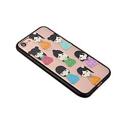 Для Защита от пыли Кейс для Задняя крышка Кейс для Мультяшная тематика Твердый PC для Apple iPhone 7 Plus iPhone 6s Plus/6 Plus