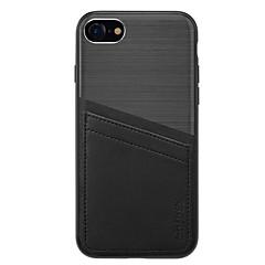 Для Бумажник для карт Защита от удара Кейс для Задняя крышка Кейс для Один цвет Твердый PC для Apple iPhone 7 Plus iPhone 7