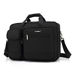 """preiswerte Laptop Taschen-Textil Volltonfarbe Umhängetasche 15 """"Laptop"""