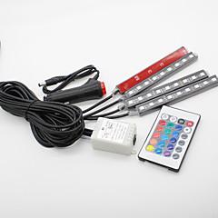 お買い得  カーアクセサリー-SO.K 4本 車載 電球 3 W SMD 5050 300 lm LED インテリアライト