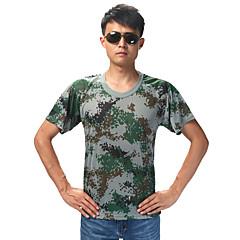Uniseks T-shirt Łowiectwo Oddychający Zdatny do noszenia Lato Kamuflaż