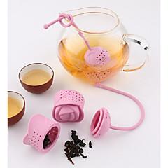 ieftine -1 buc Plastic Strecurătoare Ceai Manual .
