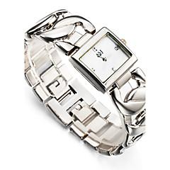 お買い得  大特価腕時計-ASJ 女性用 リストウォッチ 日本産 耐水 / 耐衝撃性 合金 バンド チャーム / 光沢タイプ / カジュアル シルバー / ゴールド