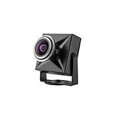 tanie Systemy CCTV-CCD 700TVL 2.1mm obiektyw przewodowy mikro dźwięku antenę kamery CCTV szeroki kąt 128 stopni mikro prime