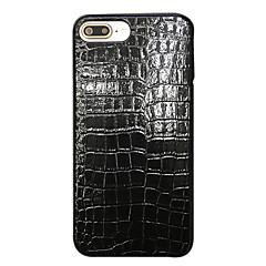 Недорогие Кейсы для iPhone 6 Plus-Для Защита от пыли Кейс для Задняя крышка Кейс для Один цвет Мягкий Искусственная кожа для AppleiPhone 7 Plus iPhone 7 iPhone 6s Plus/6