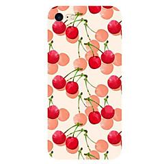Для Ультратонкий С узором Кейс для Задняя крышка Кейс для Фрукт Мягкий TPU для AppleiPhone 7 Plus iPhone 7 iPhone 6s Plus/6 Plus iPhone
