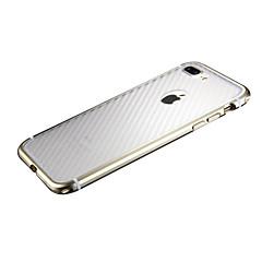 Недорогие Кейсы для iPhone 7-Кейс для Назначение Apple iPhone 7 Plus iPhone 7 Защита от удара Кейс на заднюю панель Полосы / волосы Твердый ПК для iPhone 7 Plus