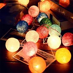 Χαμηλού Κόστους Φωτιστικά λωρίδες LED-2.5m 20leds μπαστούνι εγχόρδων μπάλα φώτα νεράιδα του γάμου διακόσμηση κόμμα καυτό χρήσης πολύχρωμα φως νεράιδα διακόσμηση κήπου