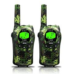 お買い得  トランシーバー-T668 462 迷彩 ハンドヘルド 電池残量不足通知 / 節電モード / VOX 3KM-5KM 3KM-5KM 22 0.5 W トランシーバー 双方向ラジオ