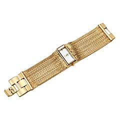 preiswerte Tolle Angebote auf Uhren-ASJ Damen Armband-Uhr Japanisch Wasserdicht / Schockresistent Kupfer Band Charme / Freizeit Silber / Ein Jahr