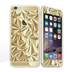 для Apple Iphone 6S / 6 4.7 протектор экрана протектор передний экран и обратно защитник гальваники геометрический рисунок