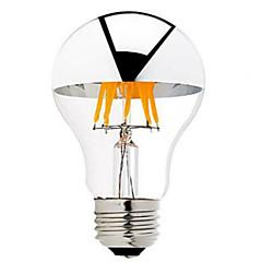 5W B22 E26/E27 LED-glødetrådspærer G60 6 lysdioder COB Dæmpbar Varm hvid 500-550lm 2700-3500K Vekselstrøm 220-240 Vekselstrøm 110-130V