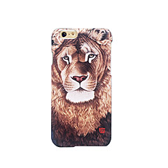 Для Матовое Рельефный С узором Кейс для Задняя крышка Кейс для Животный принт Твердый PC для AppleiPhone 7 Plus iPhone 7 iPhone 6s Plus