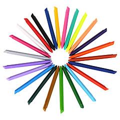 24 színű műanyag ceruzák 1 készlet 24 db