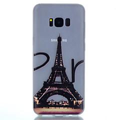 Για Λάμπει στο σκοτάδι Με σχέδια tok Πίσω Κάλυμμα tok Πύργος του Άιφελ Μαλακή TPU για SamsungS8 S8 Plus S7 edge S7 S6 edge plus S6 S5 S4
