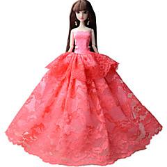Parti / Gece Elbiseler İçin Barbie Bebek Elbiseler İçin Kız Oyuncak bebek