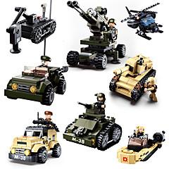 tanie -Klocki Zabawki Zabawki Czołg Wojskowy Chłopcy Dla chłopców Sztuk