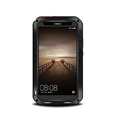 Varten Iskunkestävä Pölynkestävä Vedenkestävä Etui Kokonaan peittävä Etui Yksivärinen Kova Metalli varten Huawei Huawei Mate 9