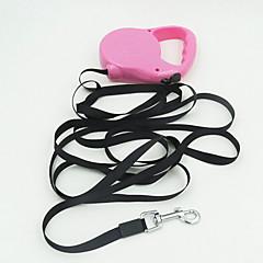 voordelige Hondenhalsbanden, tuigjes & riemen-Hond Lijnen Ademend Veiligheid Effen Siliconen Regenboog