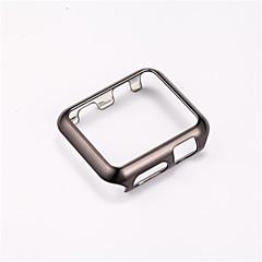 olcso Apple Watch tokok-Mert Galvanizálás Case Teljes védelem Case Egyszínű Kemény PC mert Apple Other