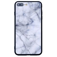 Для С узором Кейс для Задняя крышка Кейс для Мрамор Твердый Акрил для AppleiPhone 7 Plus iPhone 7 iPhone 6s Plus/6 Plus iPhone 6s/6