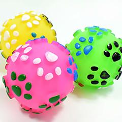 ieftine -Jucărie Pisică Jucării Cățel Jucării Animale Minge Jucării de Mestecat Interactiv Jucărie Curățare Dinți Țipăt ascuțit Elastic Câini